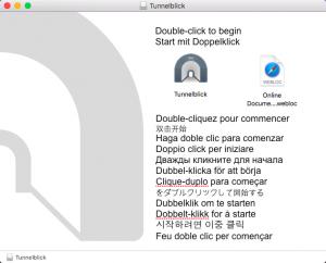MacOS-tunnelblick-installation