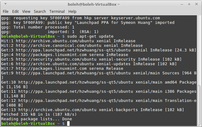 Shadowsocks Setup Guide (Linux) | BolehVPN