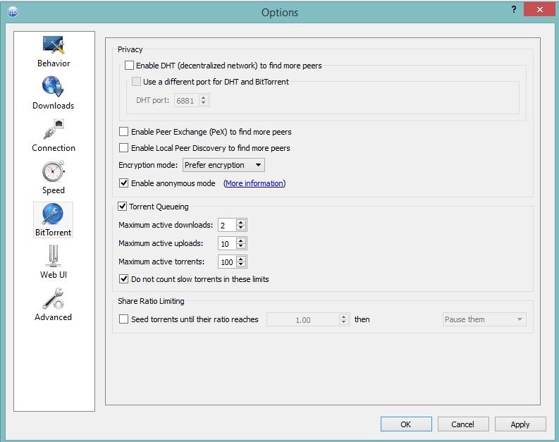 qBittorrent Configuration Instructions | BolehVPN